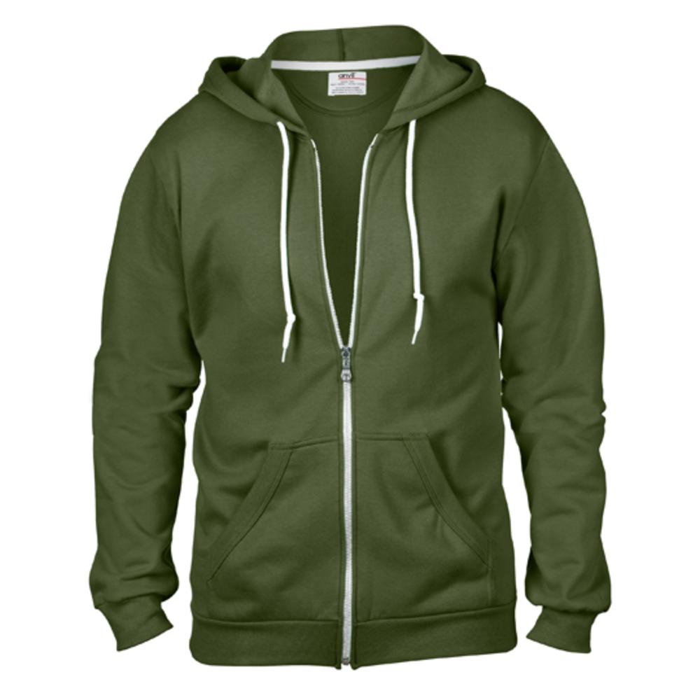 Full Zip Hooded Sweat Jacket