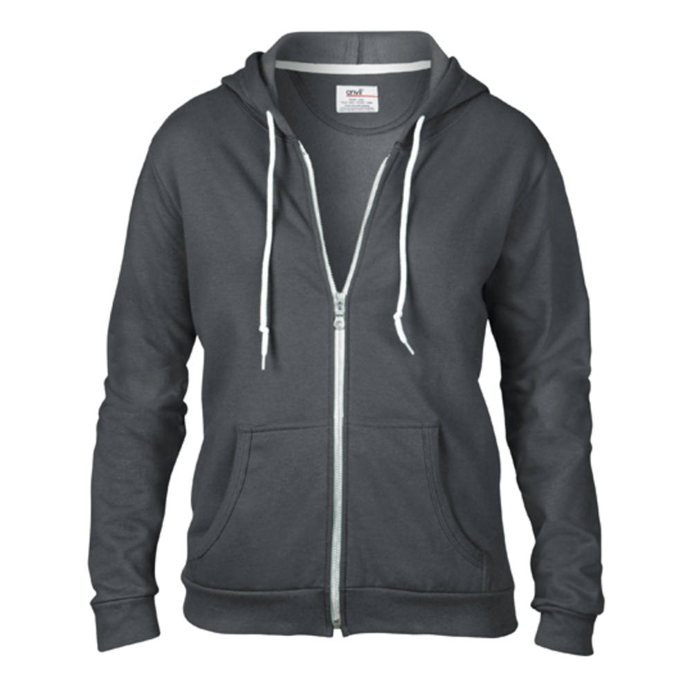 Women´s Full Zip Hooded Sweatjacket