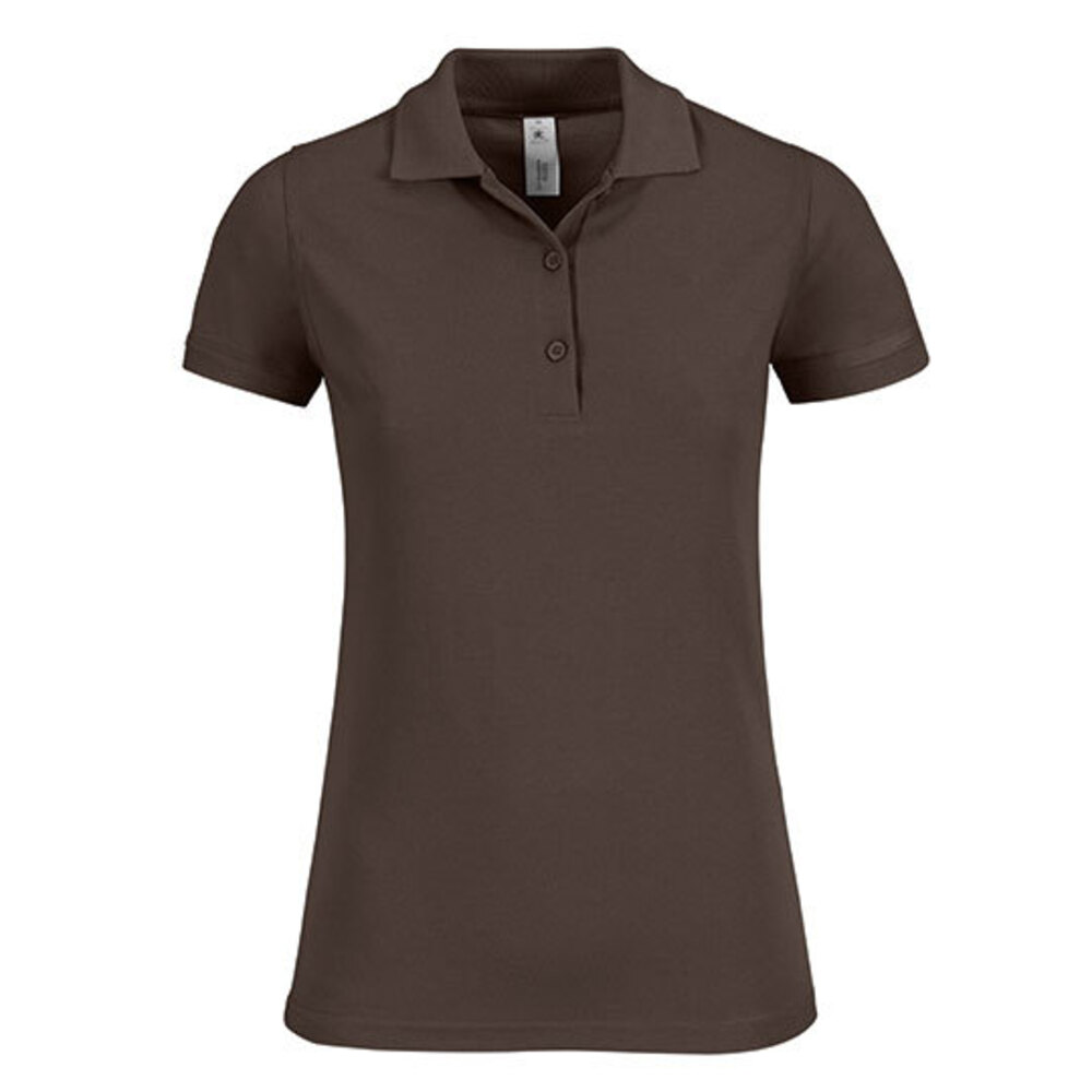 Polo Safran Timeless / Women, S, Brown