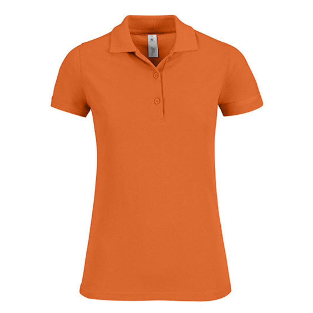 Polo Safran Timeless / Women, M, Pumpkin Orange