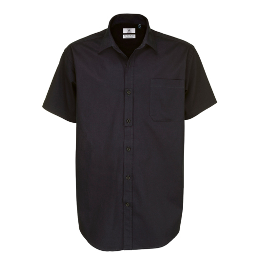 Twill Shirt Sharp Short Sleeve / Men