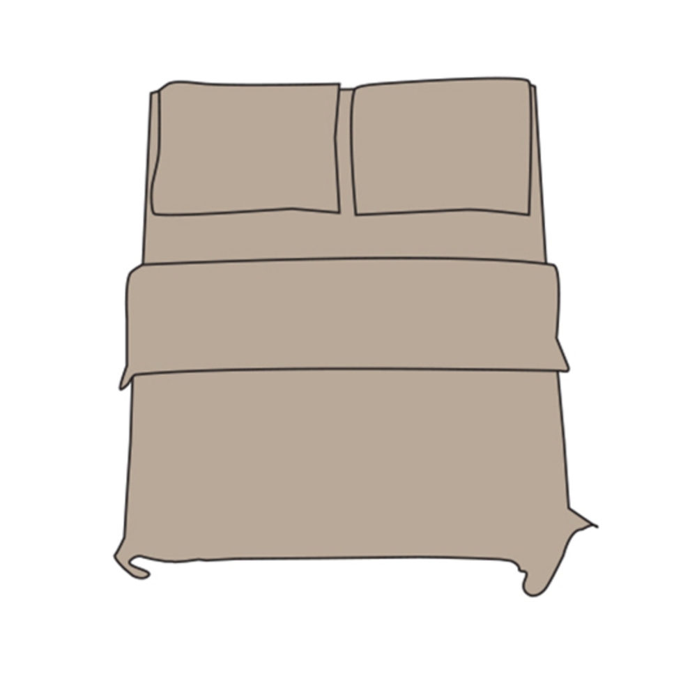 Fitted Sheet - Double L