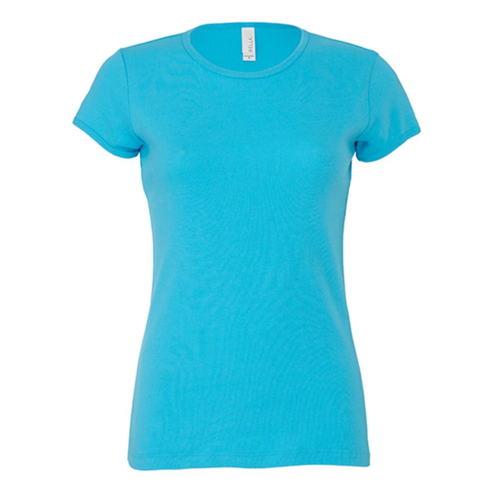 Women´s Baby Rib Crew Neck-T-Shirt