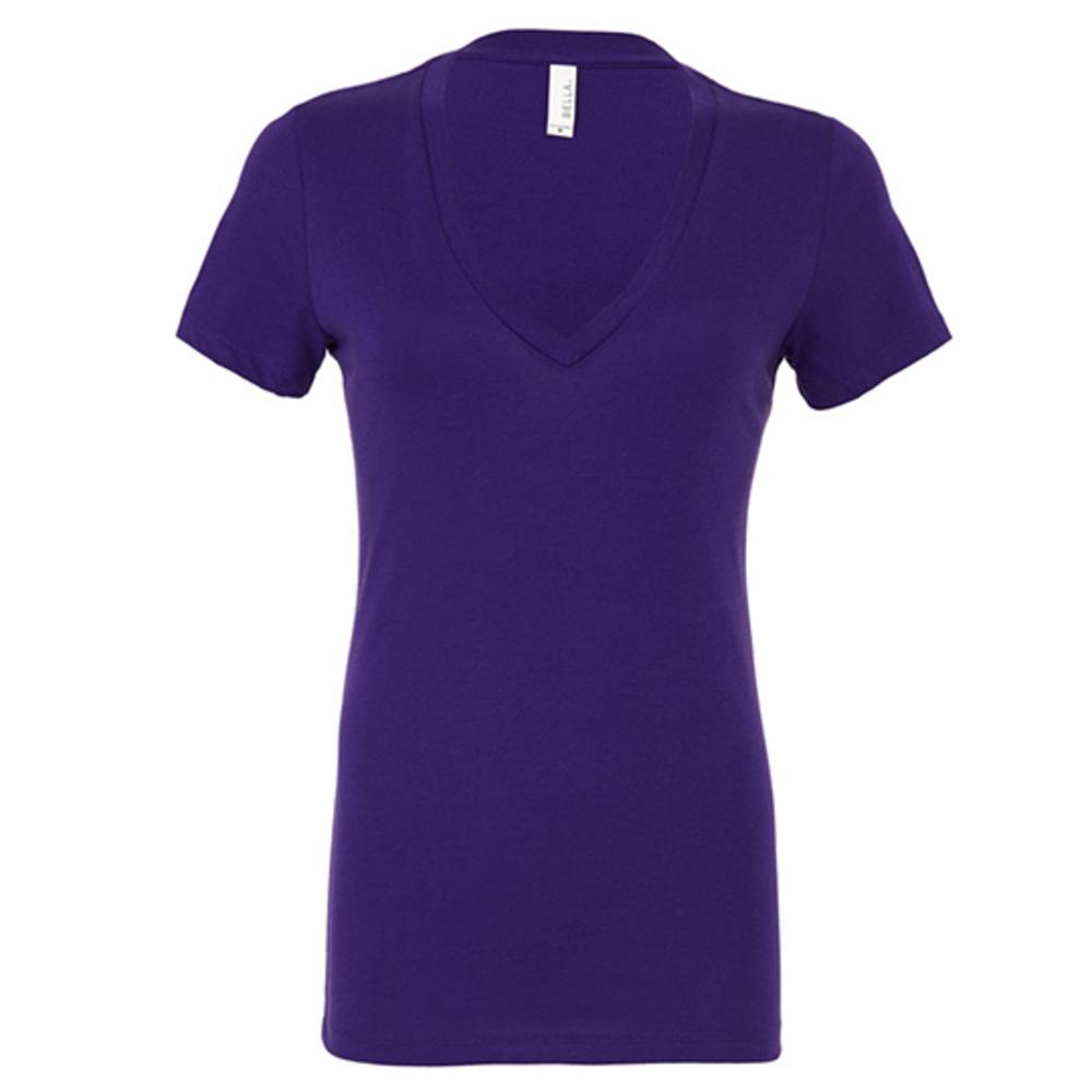 Women´s Jersey Deep V-Neck T-Shirt