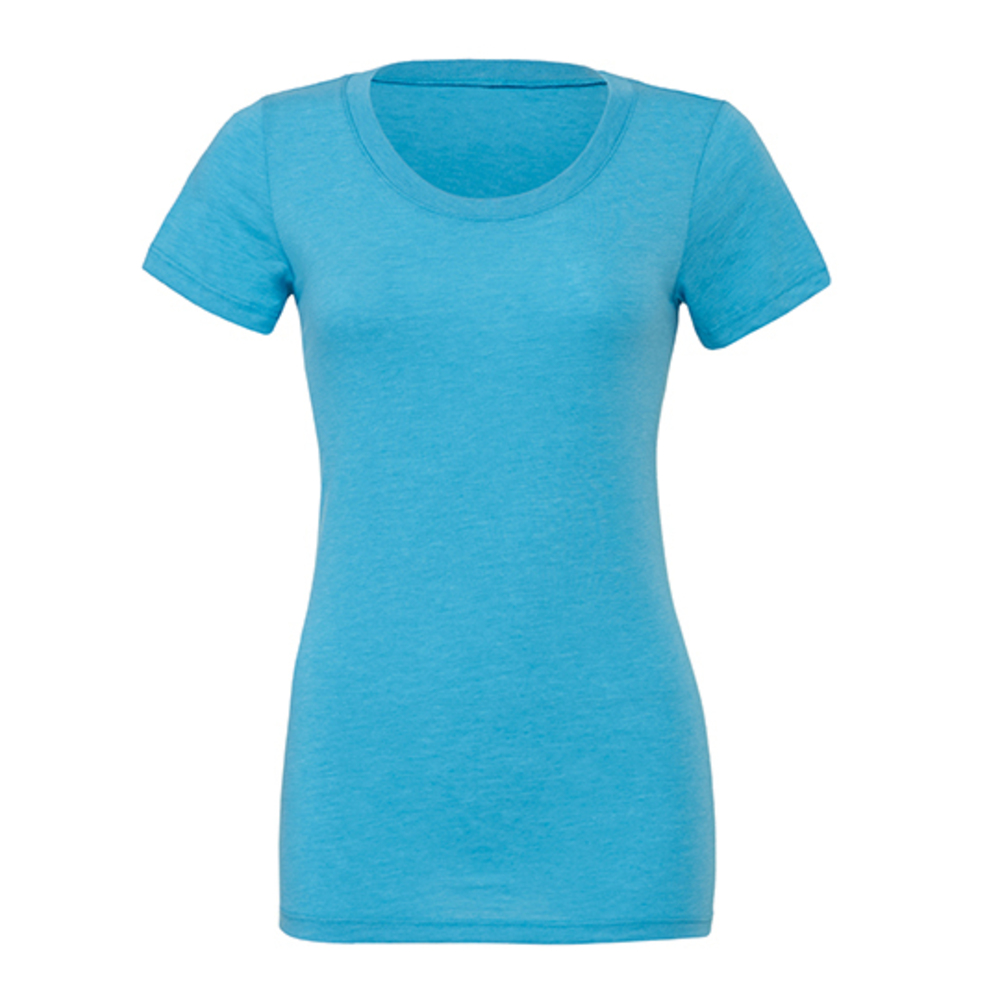 Triblend Crew Neck T-Shirt Woman