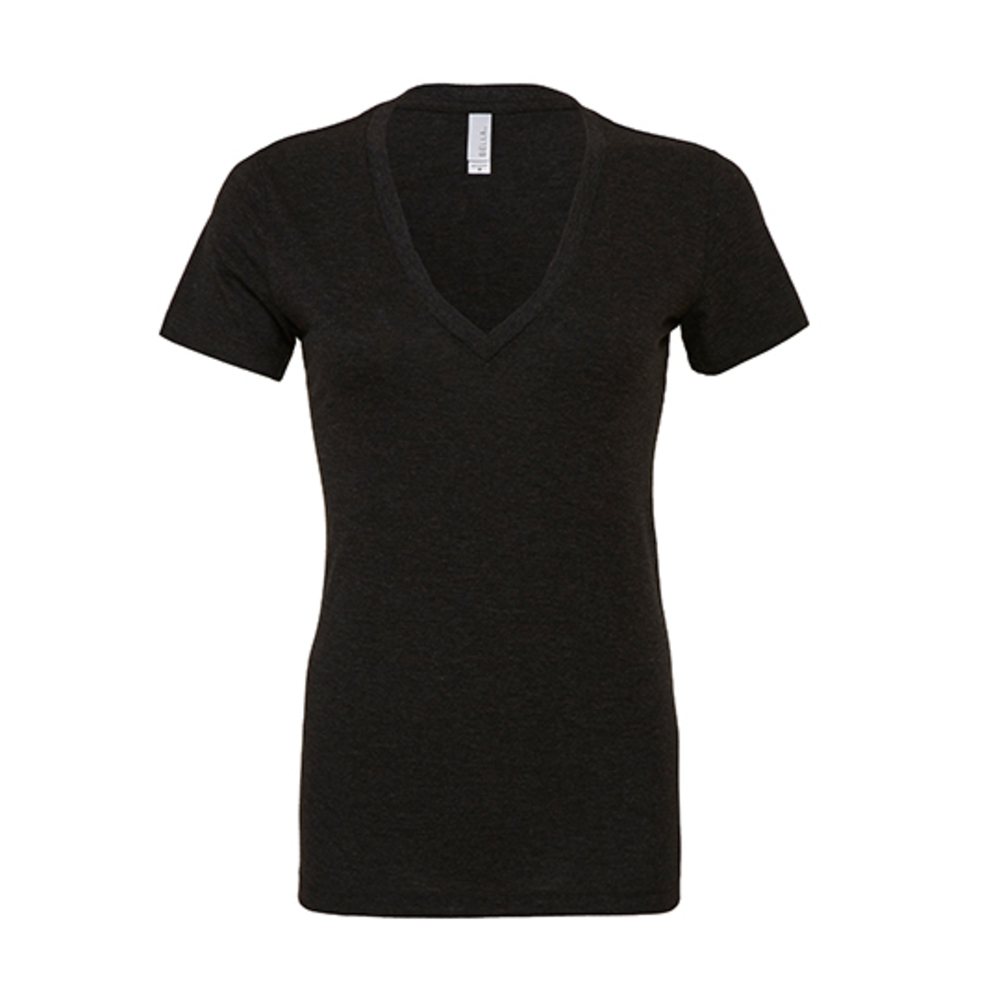 Women´s Triblend Deep V-Neck T-Shirt