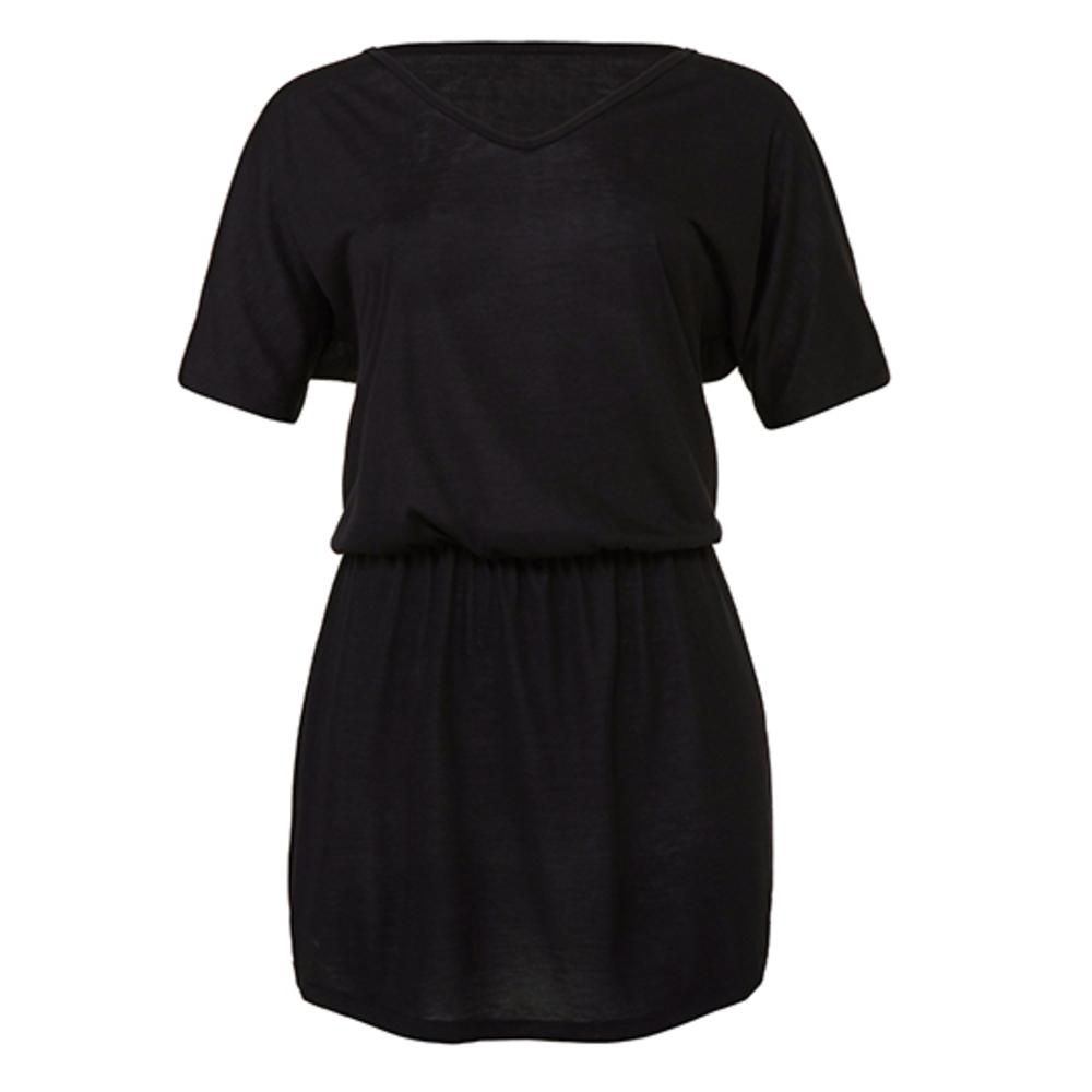 Women? s Flowy V-Neck Dress