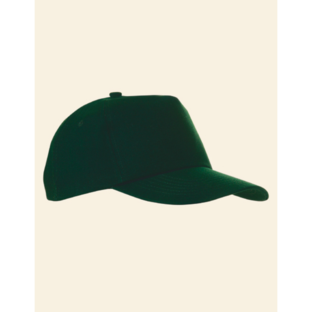 5-Panel Baumwollcap brushed