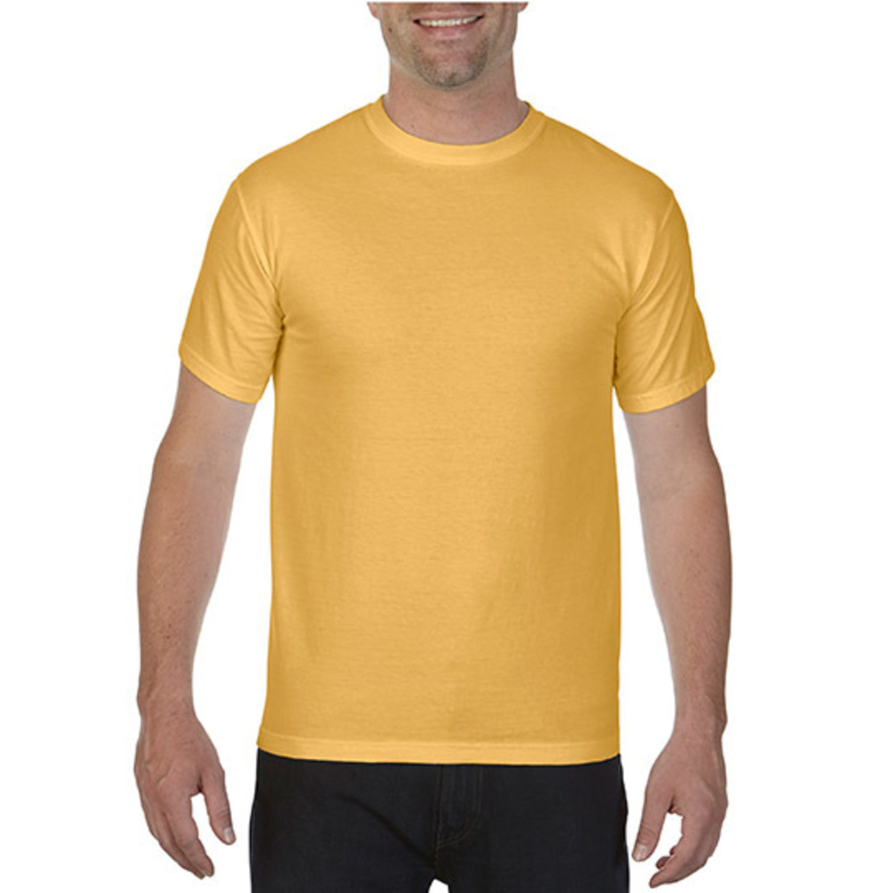 Adult Heavyweight Tee XL Mustard