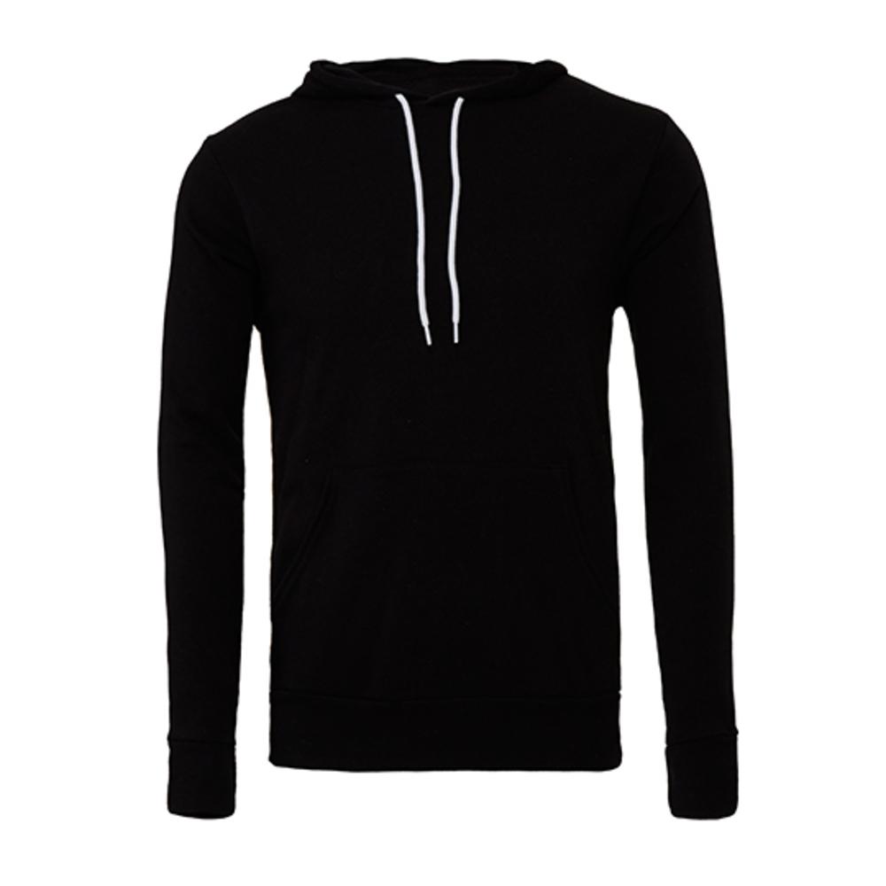 Unisex Pullover Poly-Cotton Fleece Hoodie