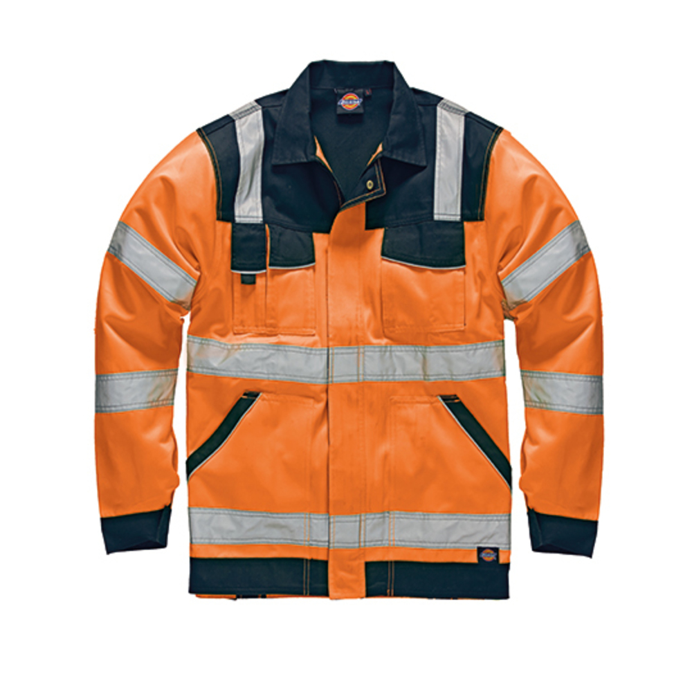 Industry warning protection waistband jacket EN20471