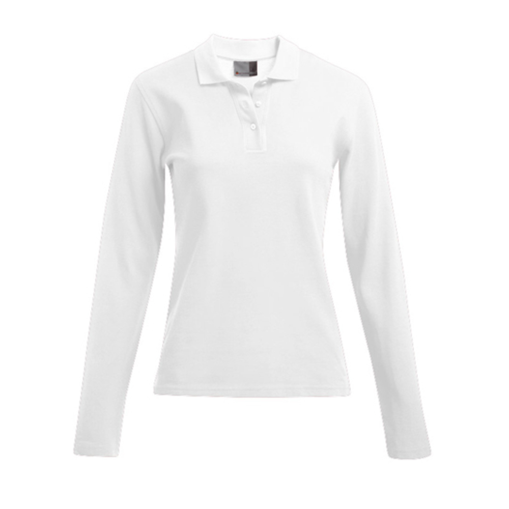 Women´s Heavy Polo Longsleeve