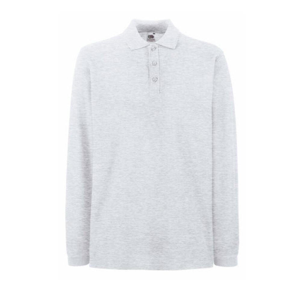Premium Long Sleeve Polo