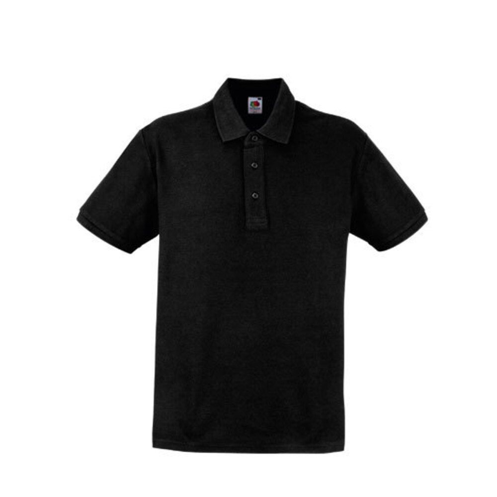 Heavy Polo XXL Black