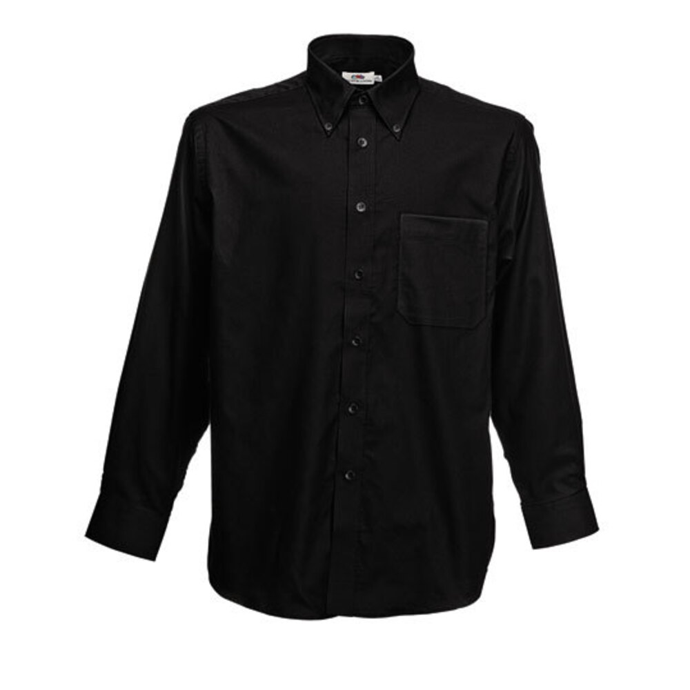Men's long sleeve Oxford shirt