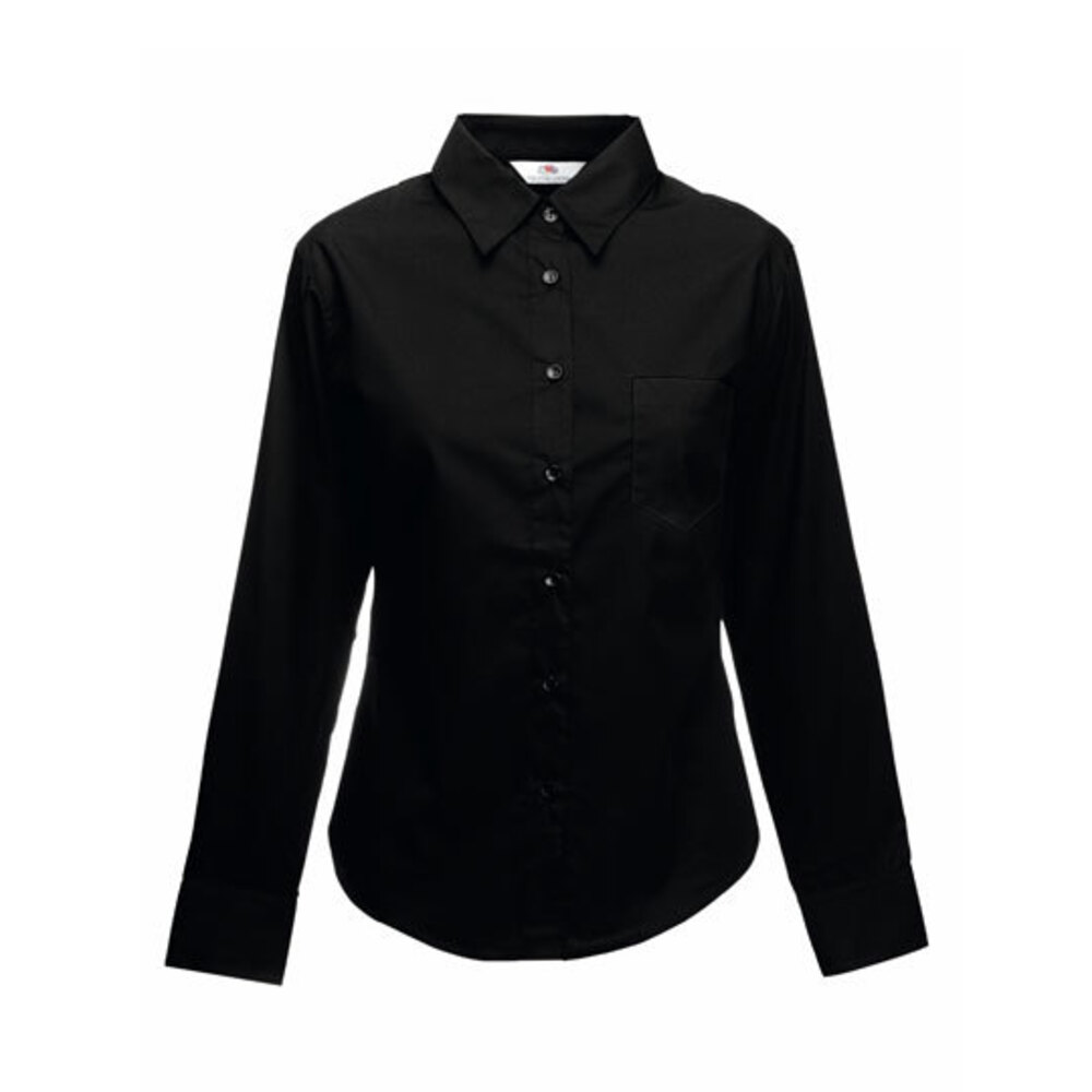 Long Sleeve Poplin Shirt Lady-Fit