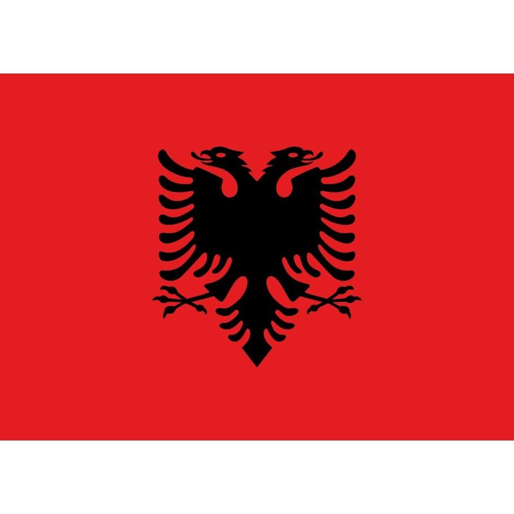 Fahne Albanien, 90 x 150, Albania