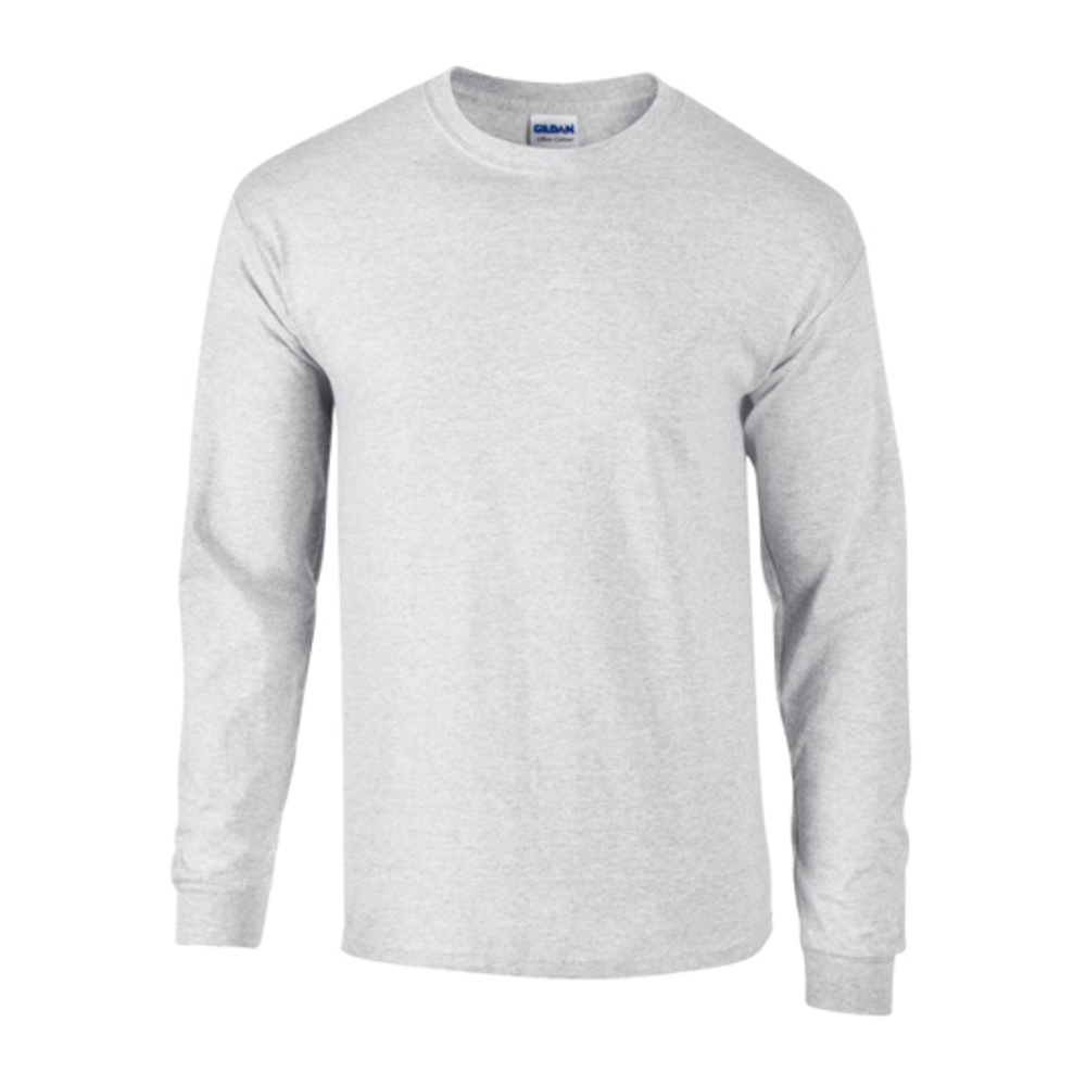 Maglietta a manica lunga in popeline (maglietta da uomo/manica lunga)