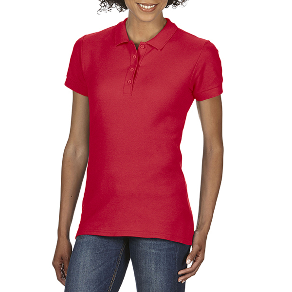 Gildan Softstyle® Ladies Double Piqué Polo