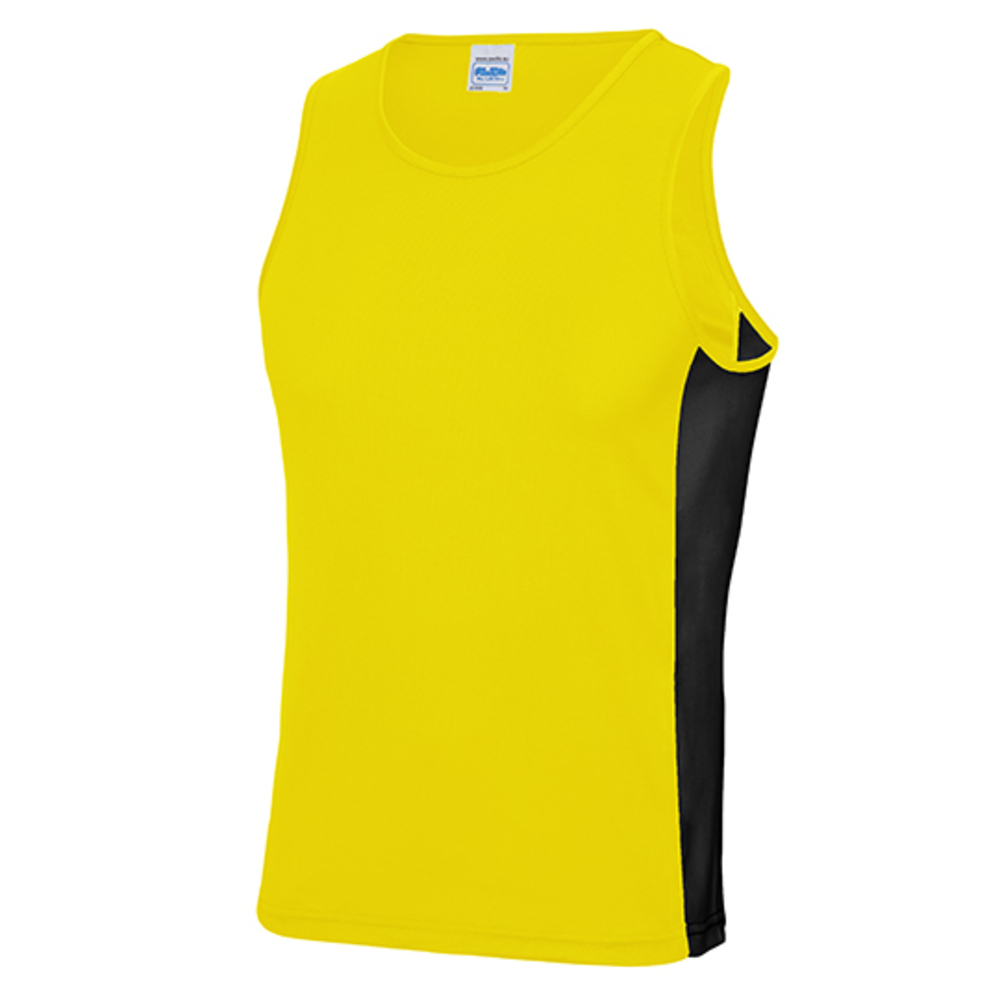 Mens Cool Contrast Vest