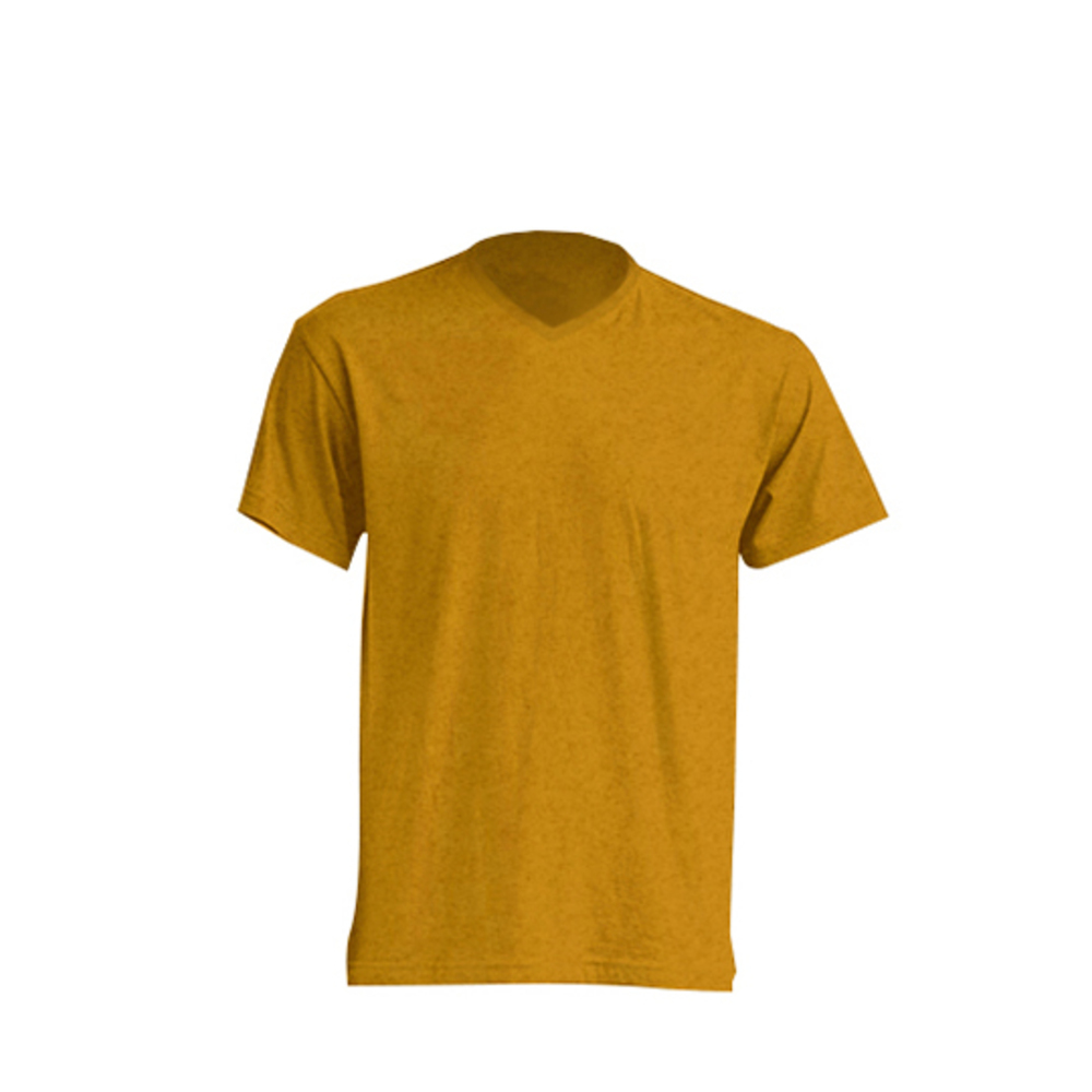 Urban V-Neck L Mustard Heather