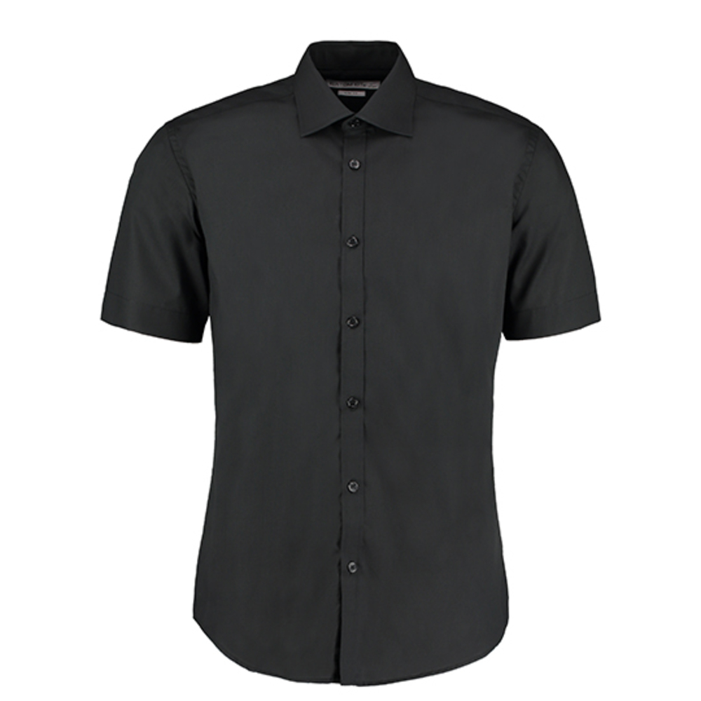 Slim Fit Business Shirt Short Sleeved