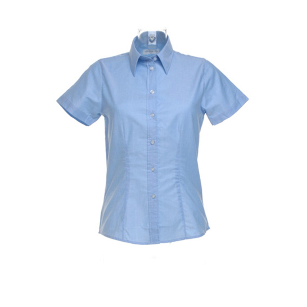 Womens Workwear Oxford Shirt Short Sleeve