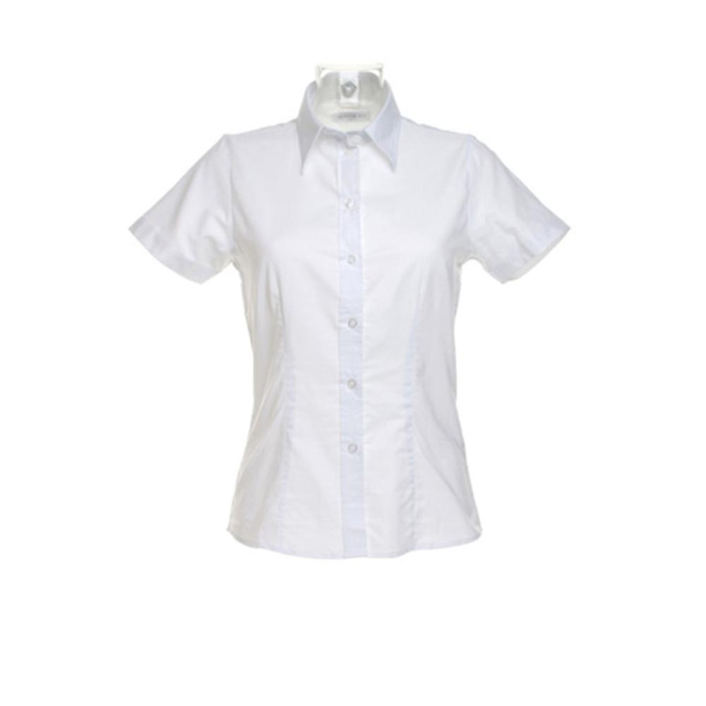 Womens Workwear Oxford Shirt Short Sleeve