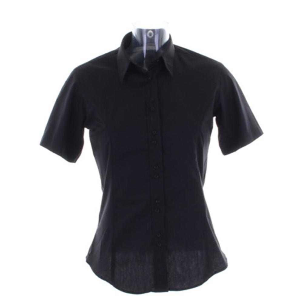 Womens City Business Shirt Short Sleeved