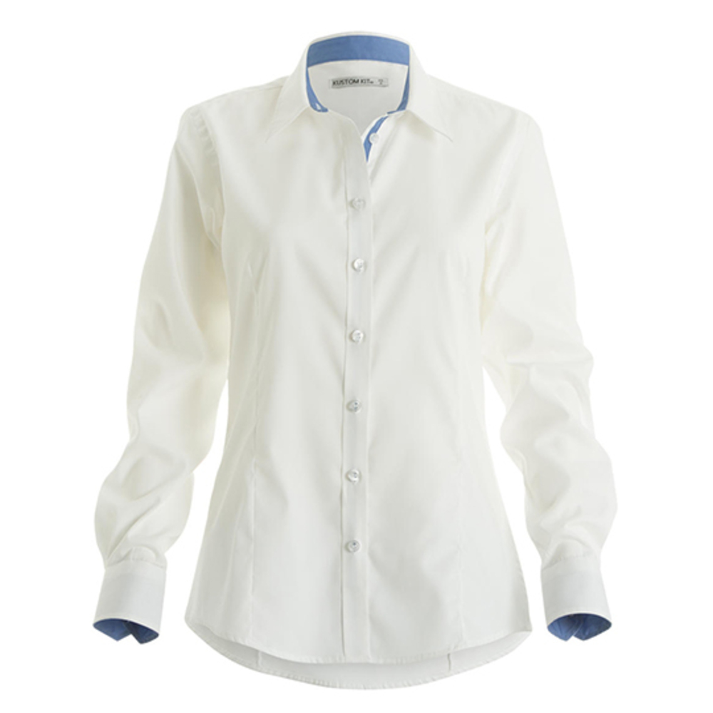 Contrast Premium Oxford Shirt Long Sleeved