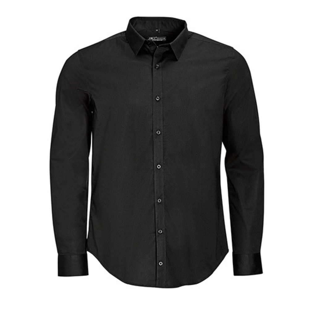 Chemise Hommes manches longues extensible Blake