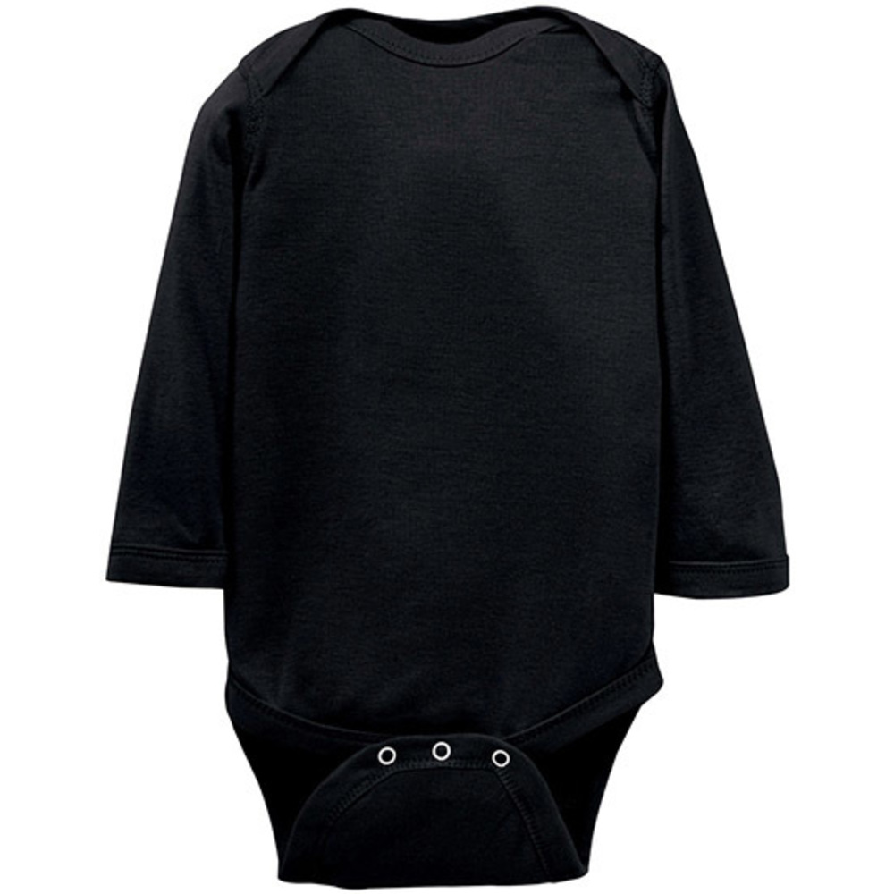 Infant Fine Jersey Long Sleeve Bodysuit