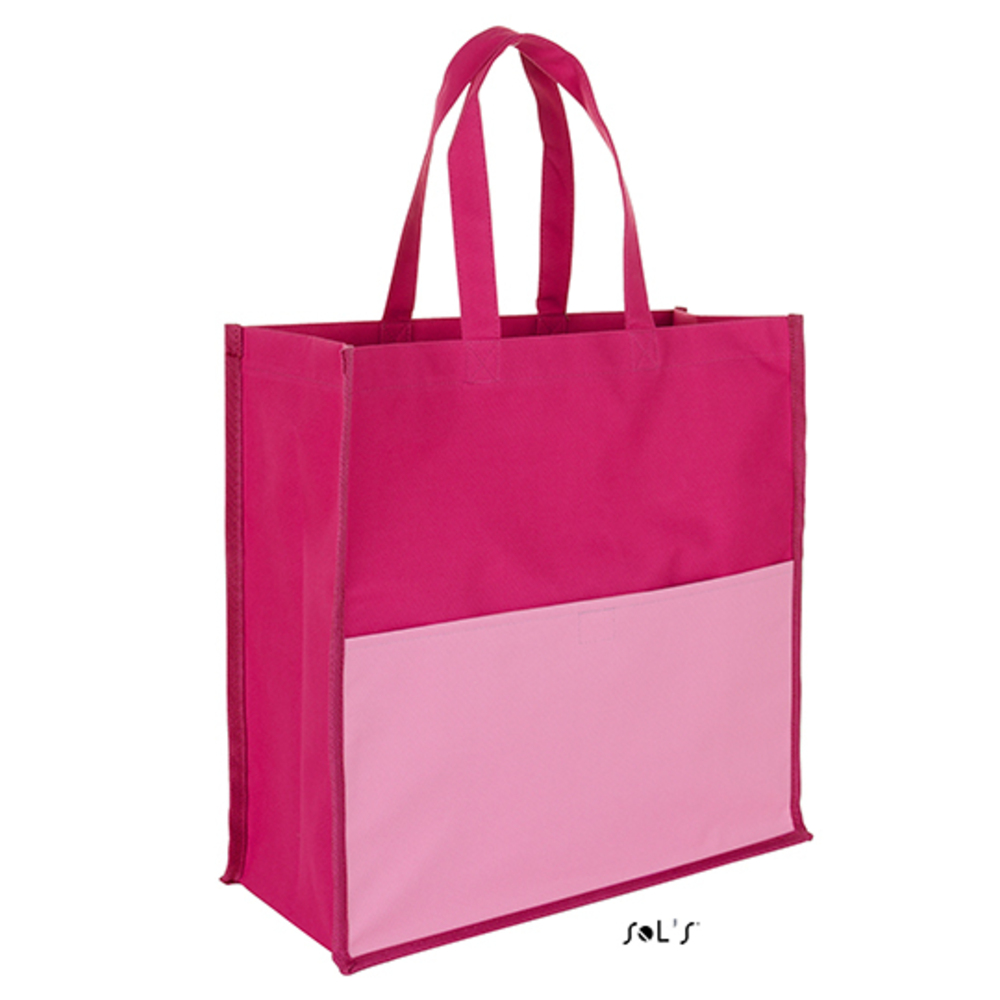 Burton Shopping Bag, 38 x 38 x 14, Fuchsia