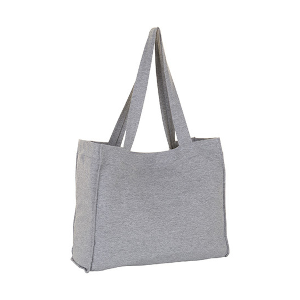 Marina Shopping Bag, 43 x 42 x 15, Grey Melange