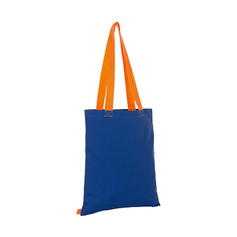 Hamilton Shopping Bag 42 x 37 Royal Blue / Orange