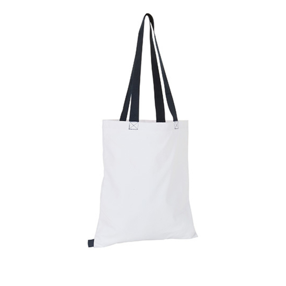 Hamilton Shopping Bag, 42 x 37, White / French ...