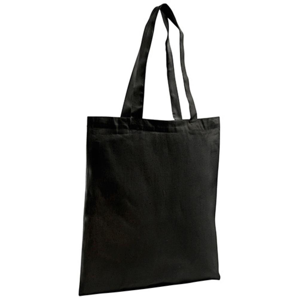 Organic Shopping Bag Zen 37 x 42 Black