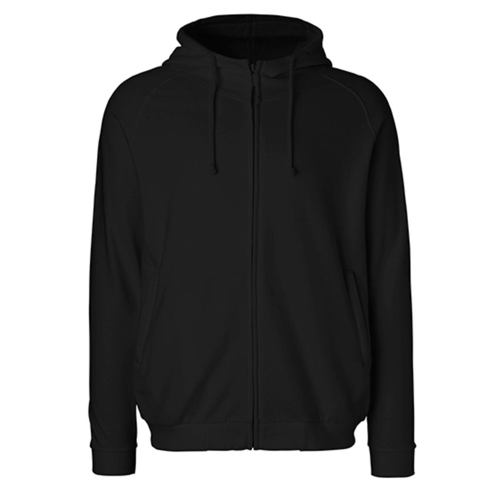 Unisex Hoodie with Hidden Zip