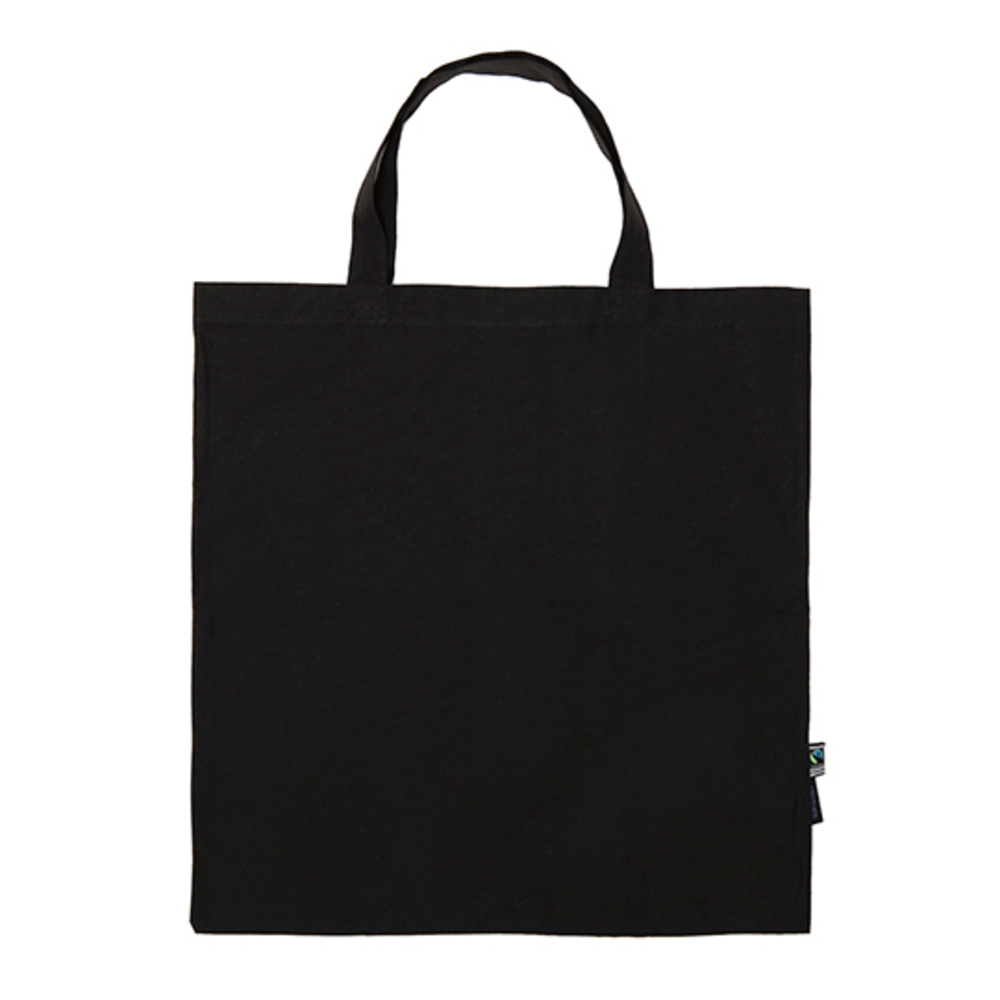 Shopping Bag Short Handles 38 x 42 Black
