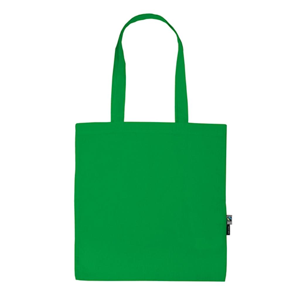 Shopping Bag with Long Handles 38 x 42 Green