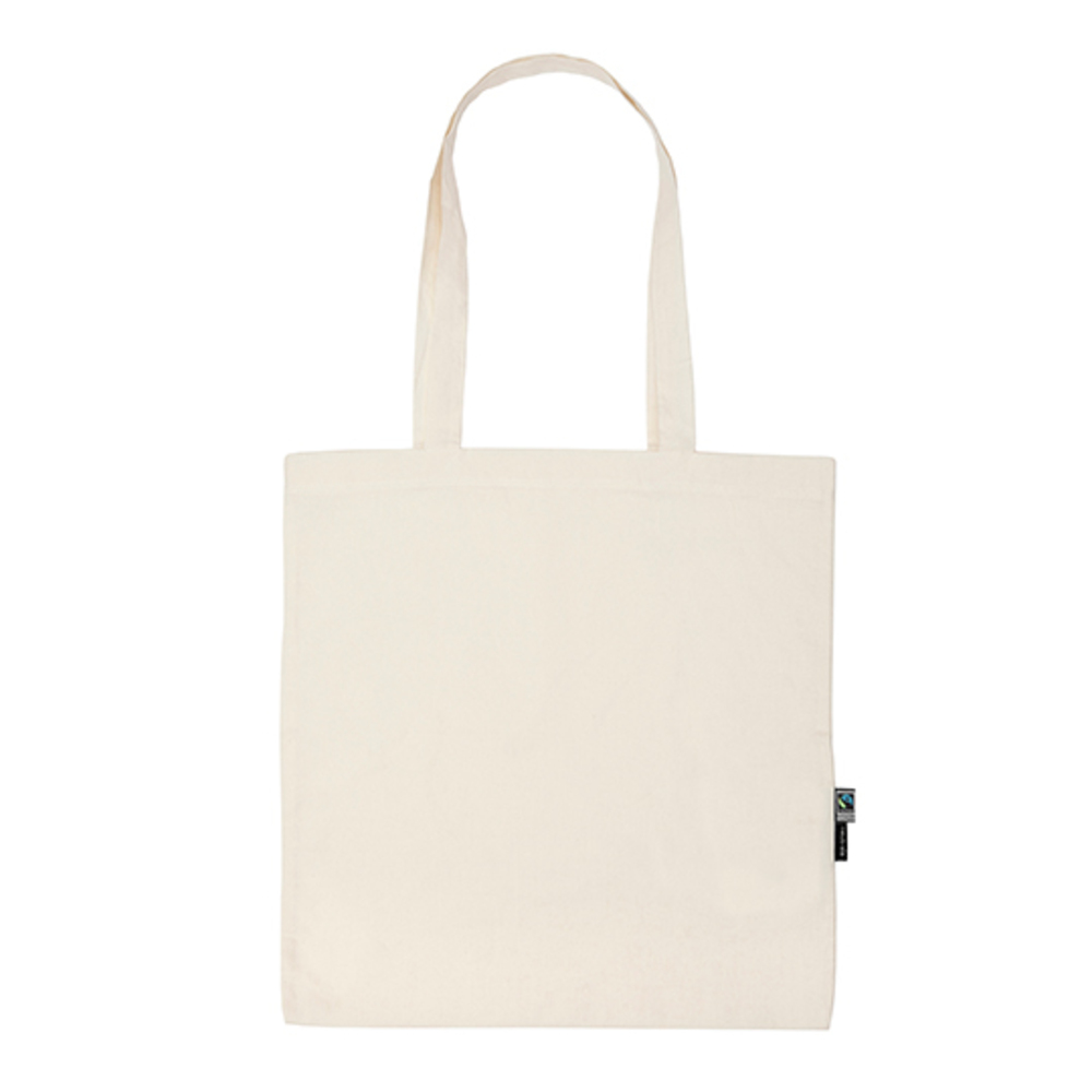 Shopping Bag with Long Handles, 38 x 42, Nature