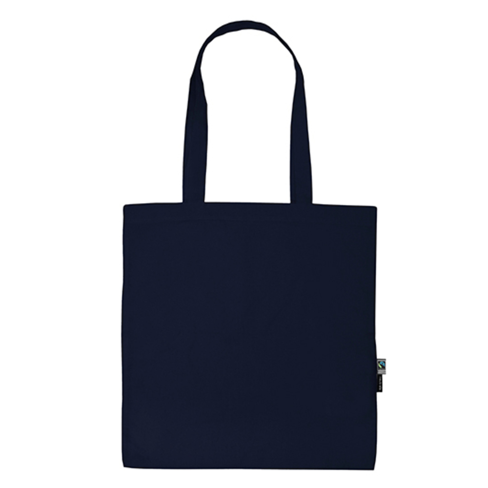 Shopping Bag with Long Handles 38 x 42 Navy