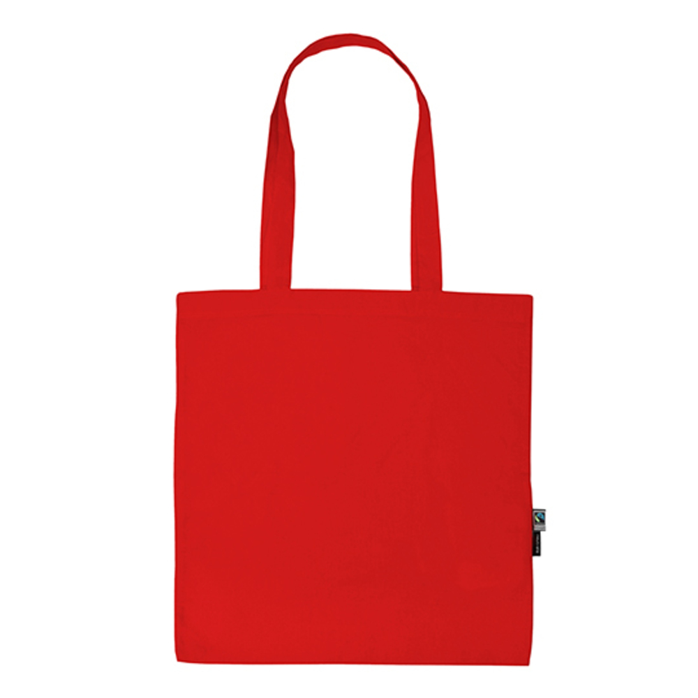 Shopping Bag with Long Handles 38 x 42 Red
