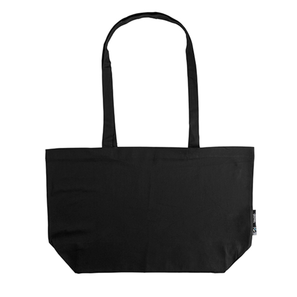 Shopping Bag with Gusset 51 x 32 x 14 Black