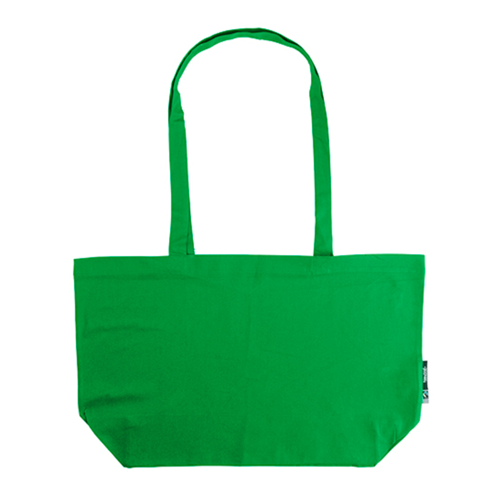 Shopping Bag with Gusset 51 x 32 x 14 Green