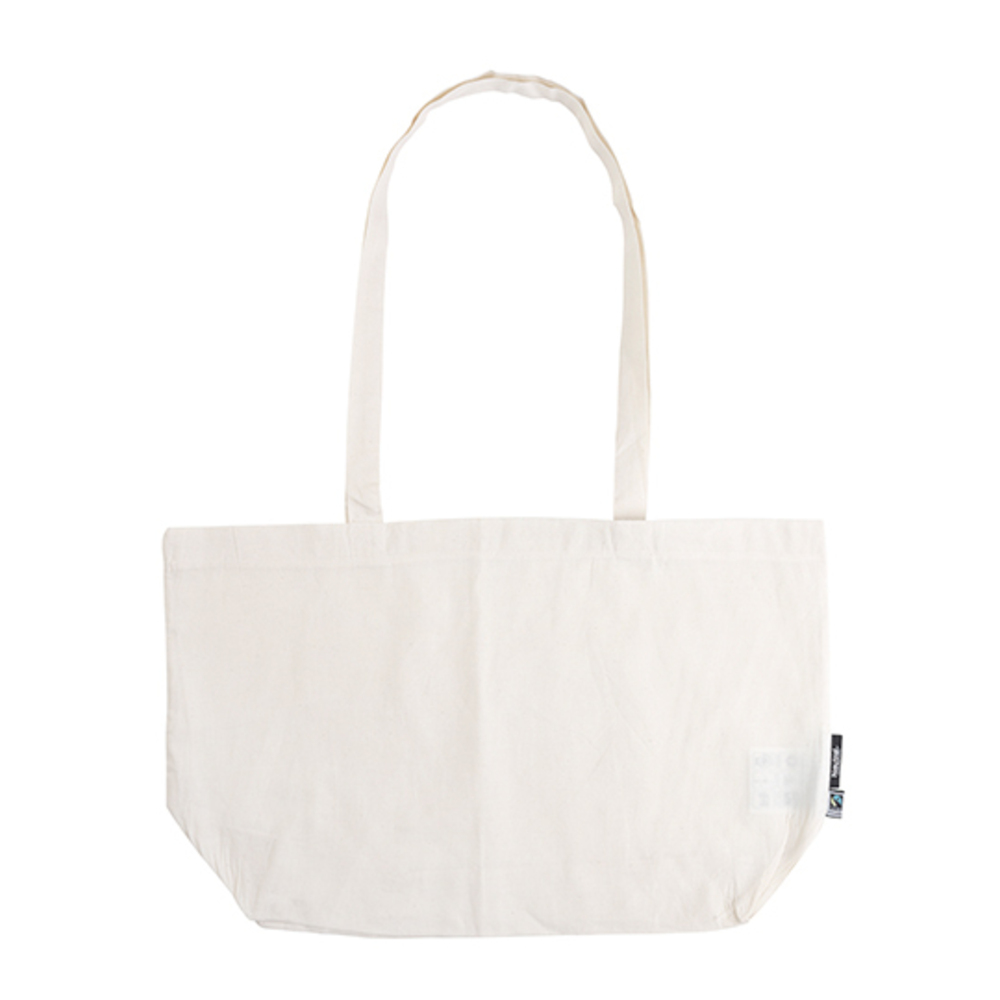 Shopping Bag with Gusset, 51 x 32 x 14, Nature