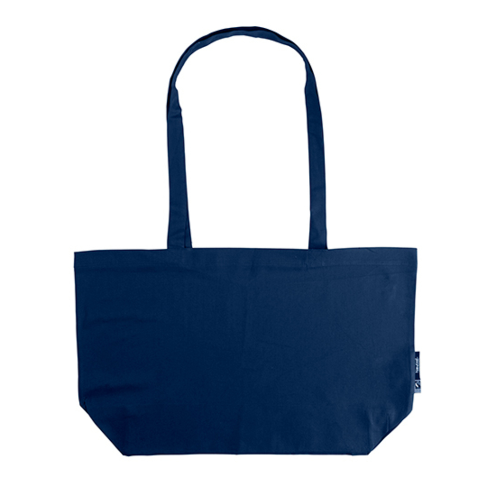 Shopping Bag with Gusset, 51 x 32 x 14, Navy