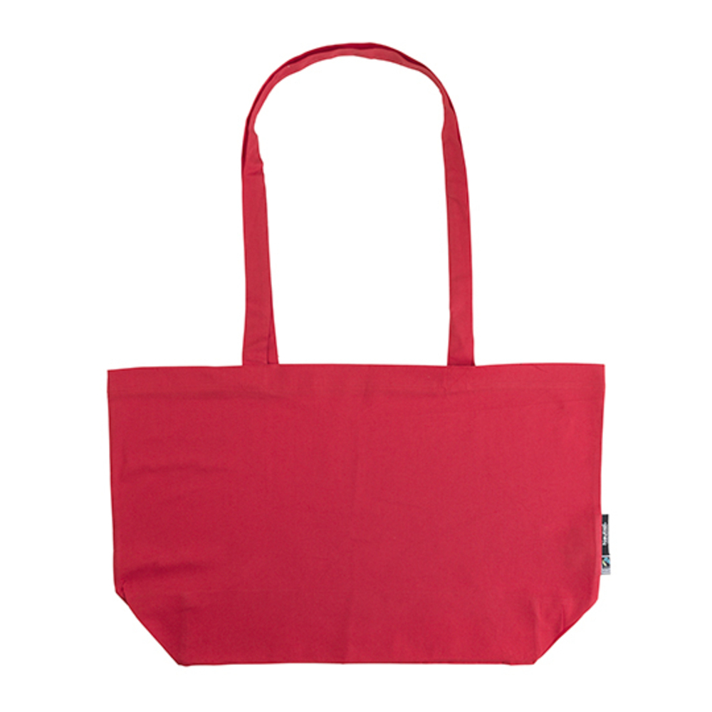 Shopping Bag with Gusset 51 x 32 x 14 Red
