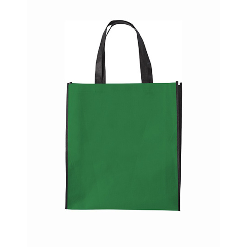 Shopping Bag Zürich, 38 x 42 x 10, Green