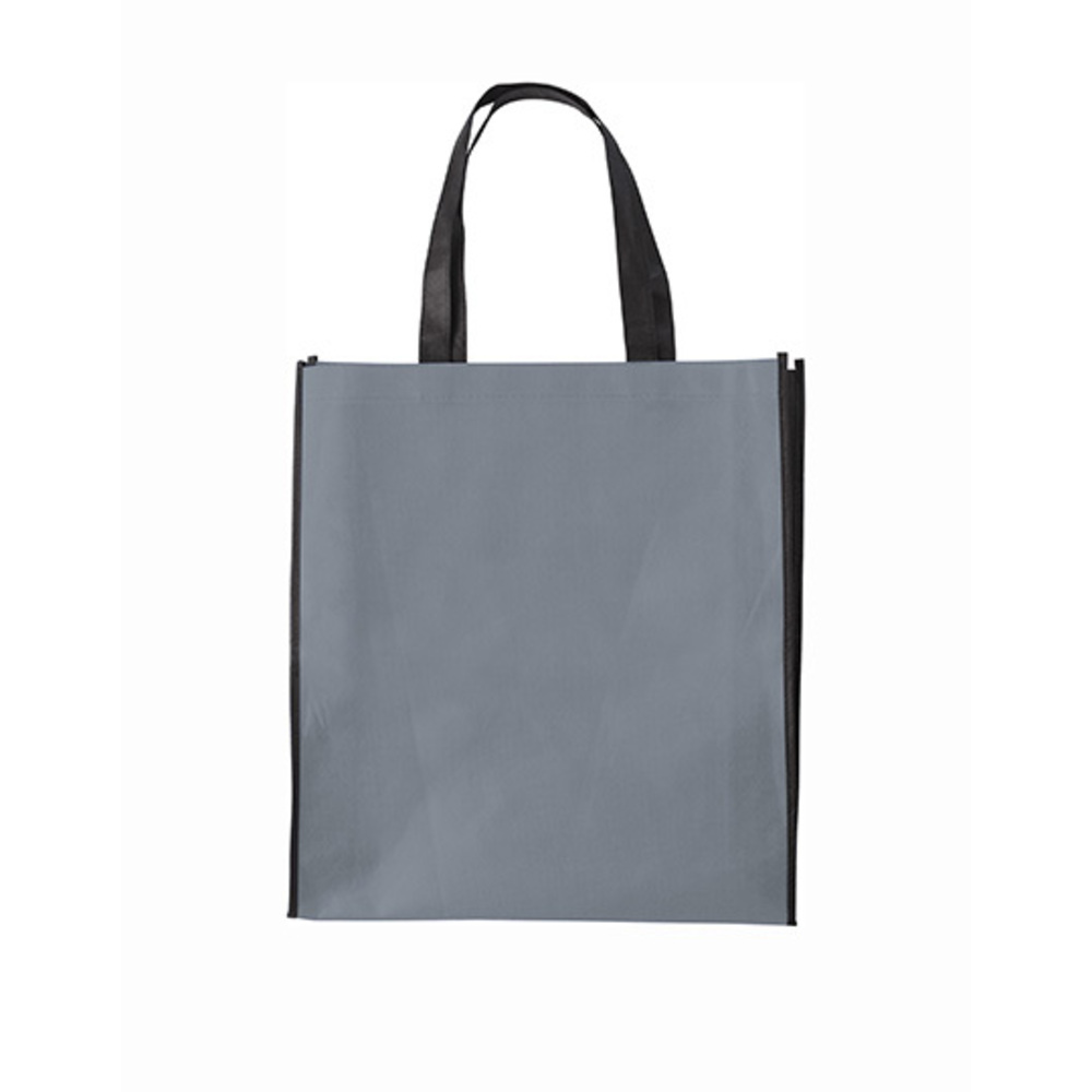 Shopping Bag Zürich, 38 x 42 x 10, Grey